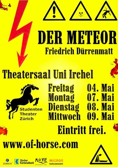 Plakat Meteor